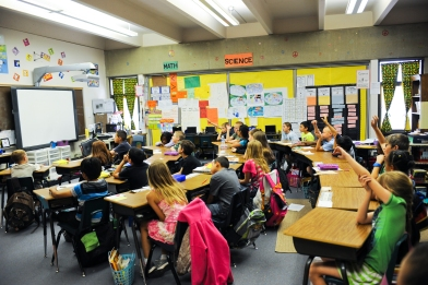Image of students in class.