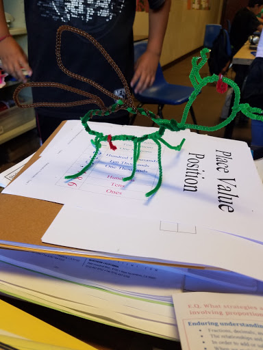 Image of a student made insect model