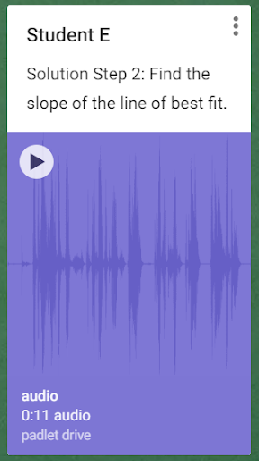 A student submitted audio file.